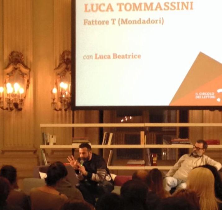 Luca Tommassini Circolo Lettori Torino