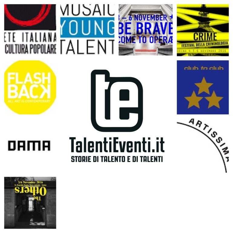 Talenti Eventi Selection novembre