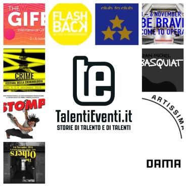Talenti Eventi - Eventi ottobre novembre 2016