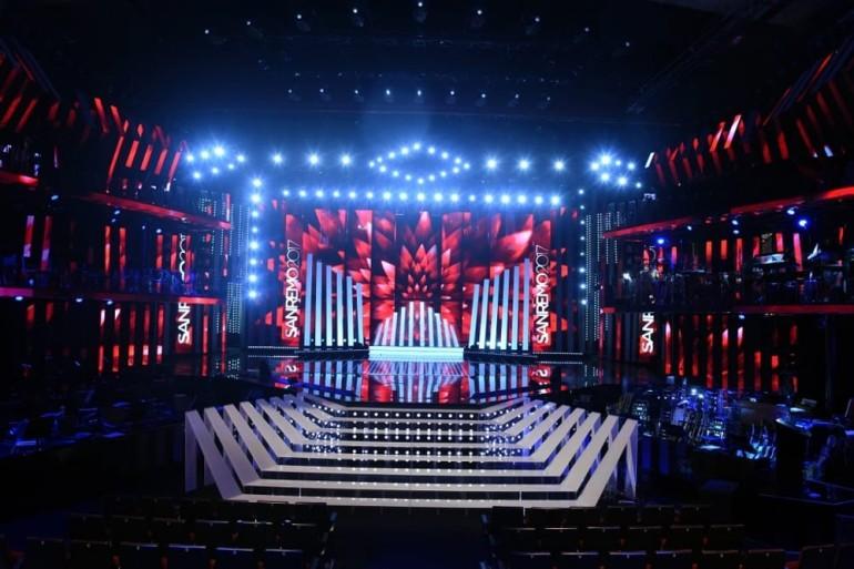 talentieventi-Sanremo-2017-scenografia-palco- Riccardo Bocchini