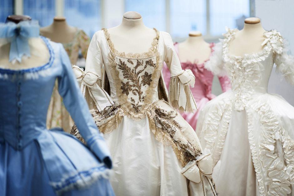 """Gli abiti della mostra """"Maria Antonietta – I costumi di una regina da Oscar"""""""