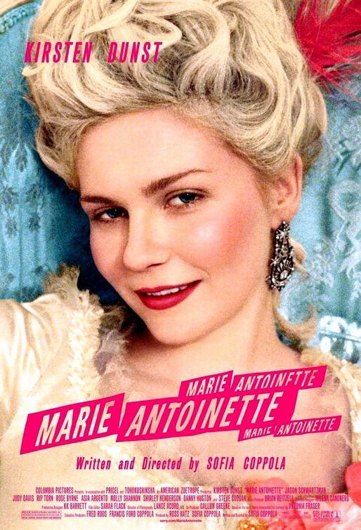 """La locandina del film di Sofia Coppola """"Marie Antoniette"""""""