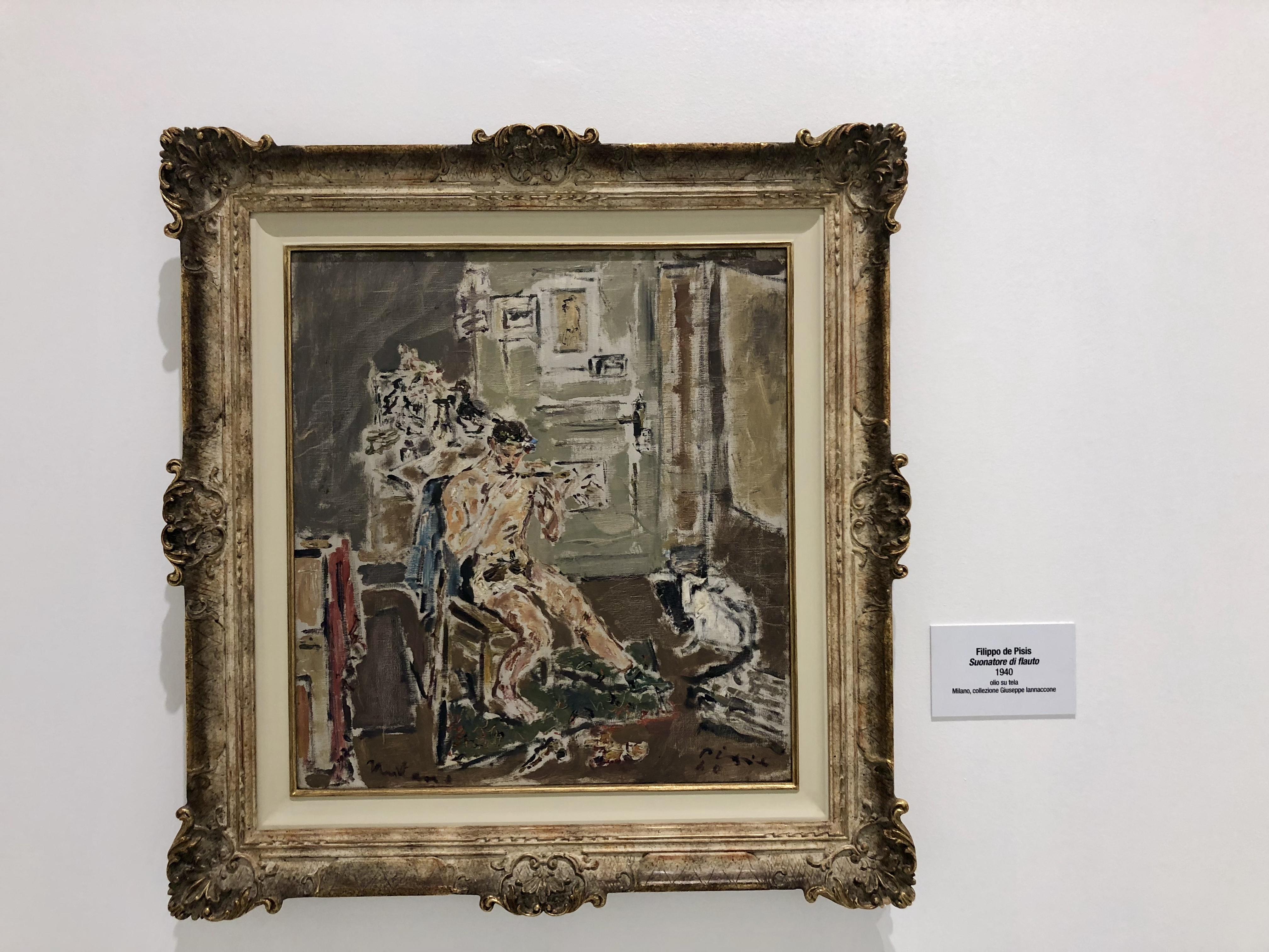 TalentiEventi_Filippo_De_Pisis_Eclettico_connoisseur_fra pittura_ musica_e_poesia_Museo_Ettore_Fico_16