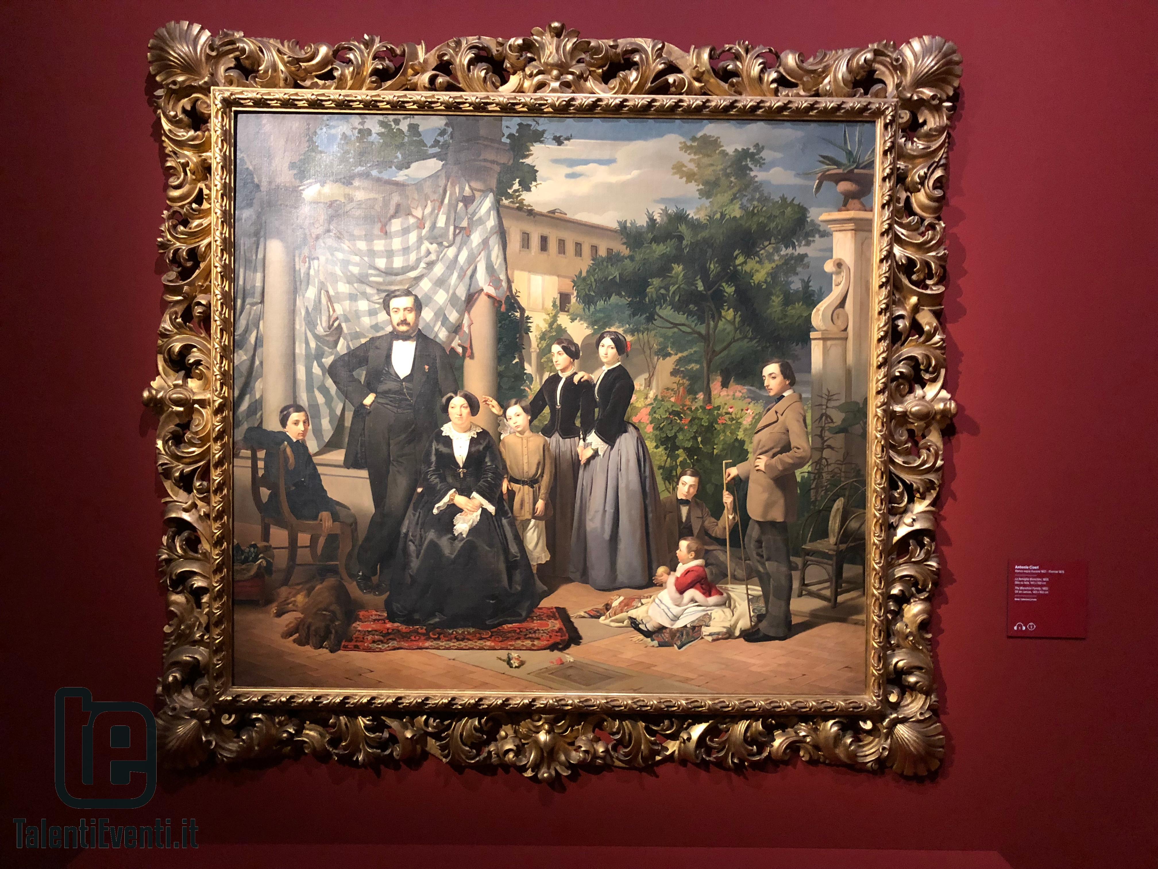 Antonio Ciseri - La famiglia Bianchini - 1855
