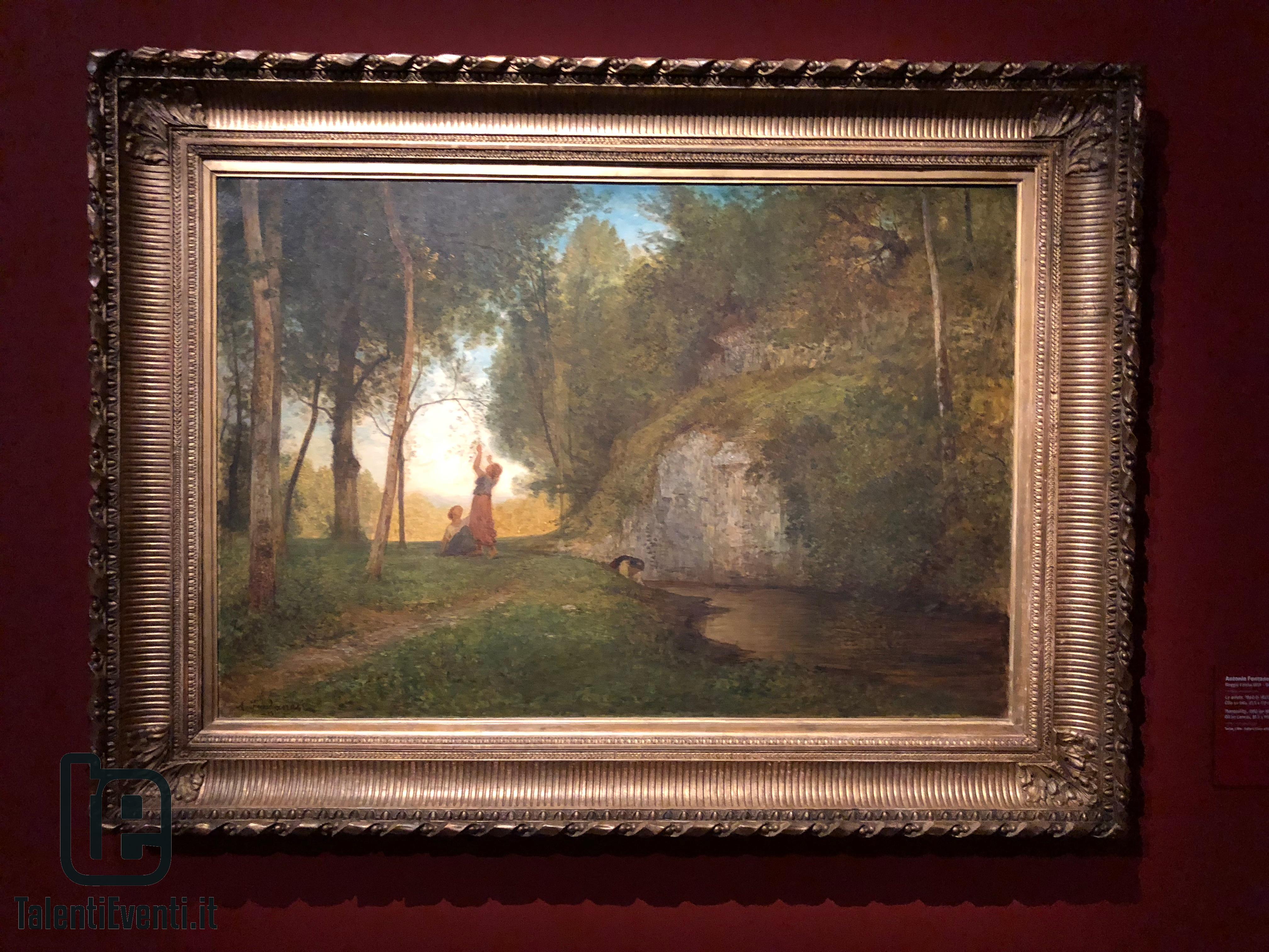 Antonio Fontanesi - La quiete - 1860