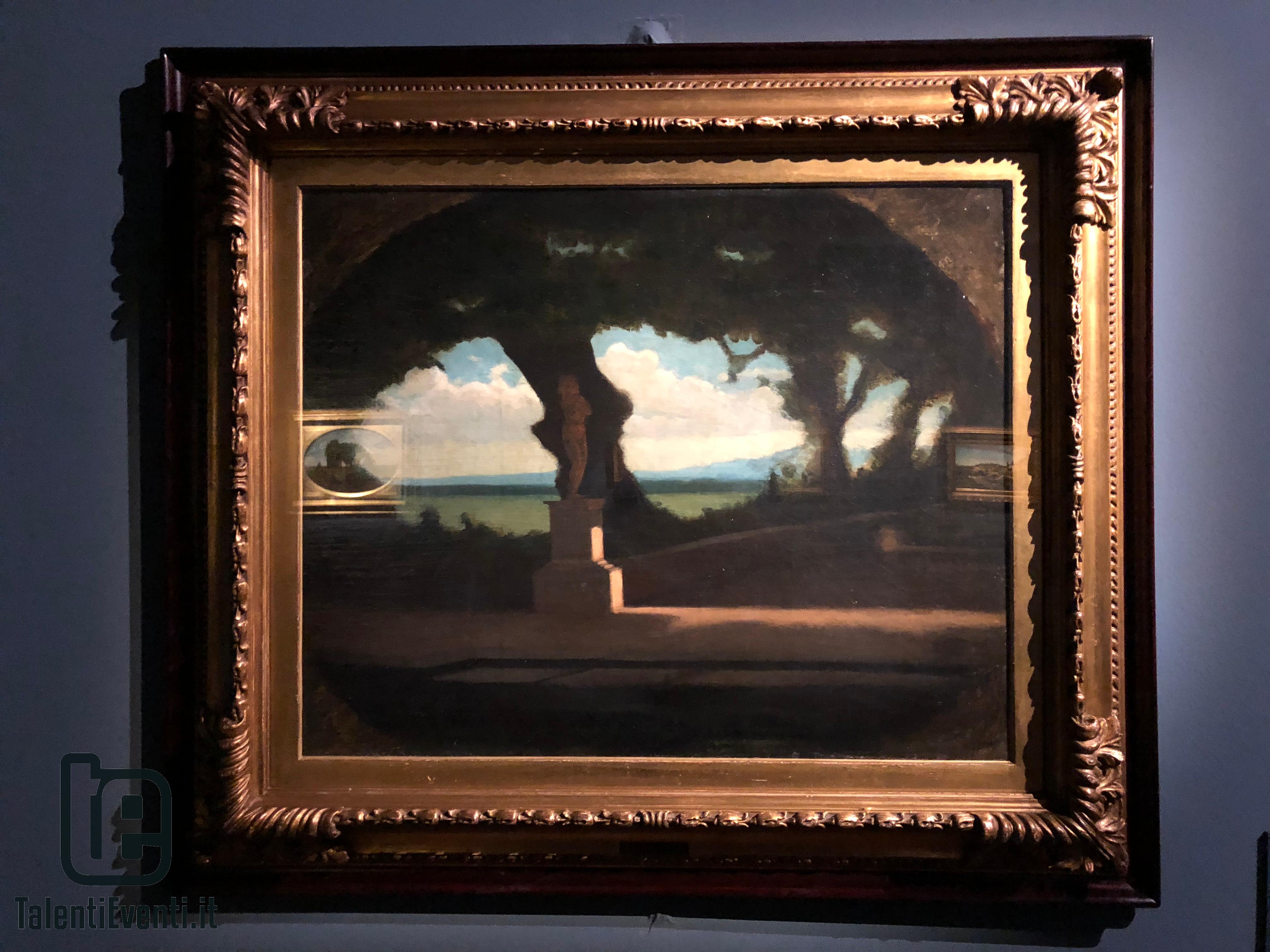 Vitale D'Ancona - Parco Reale (Roma al Pincio) - 1861 circa
