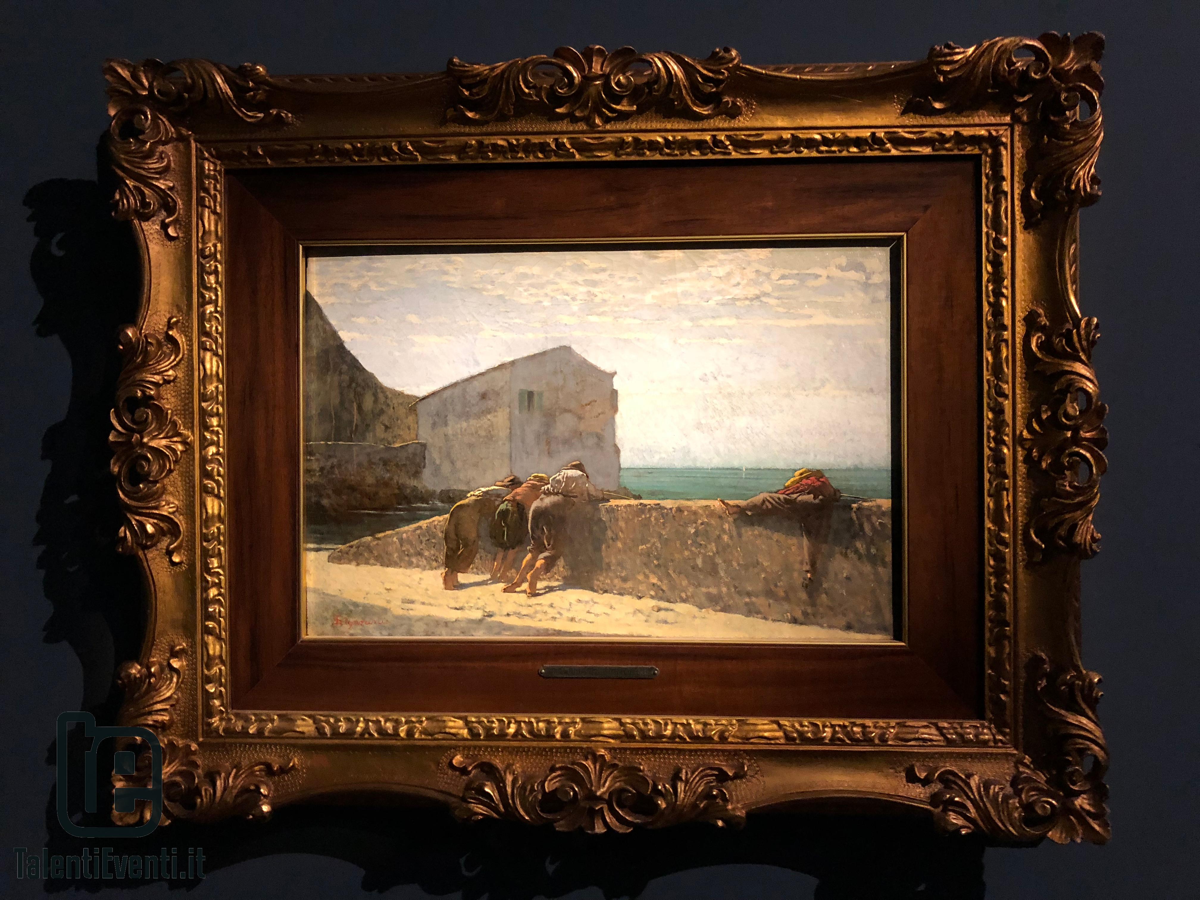 Telemaco Signorini - Giovani pescatori - 1861