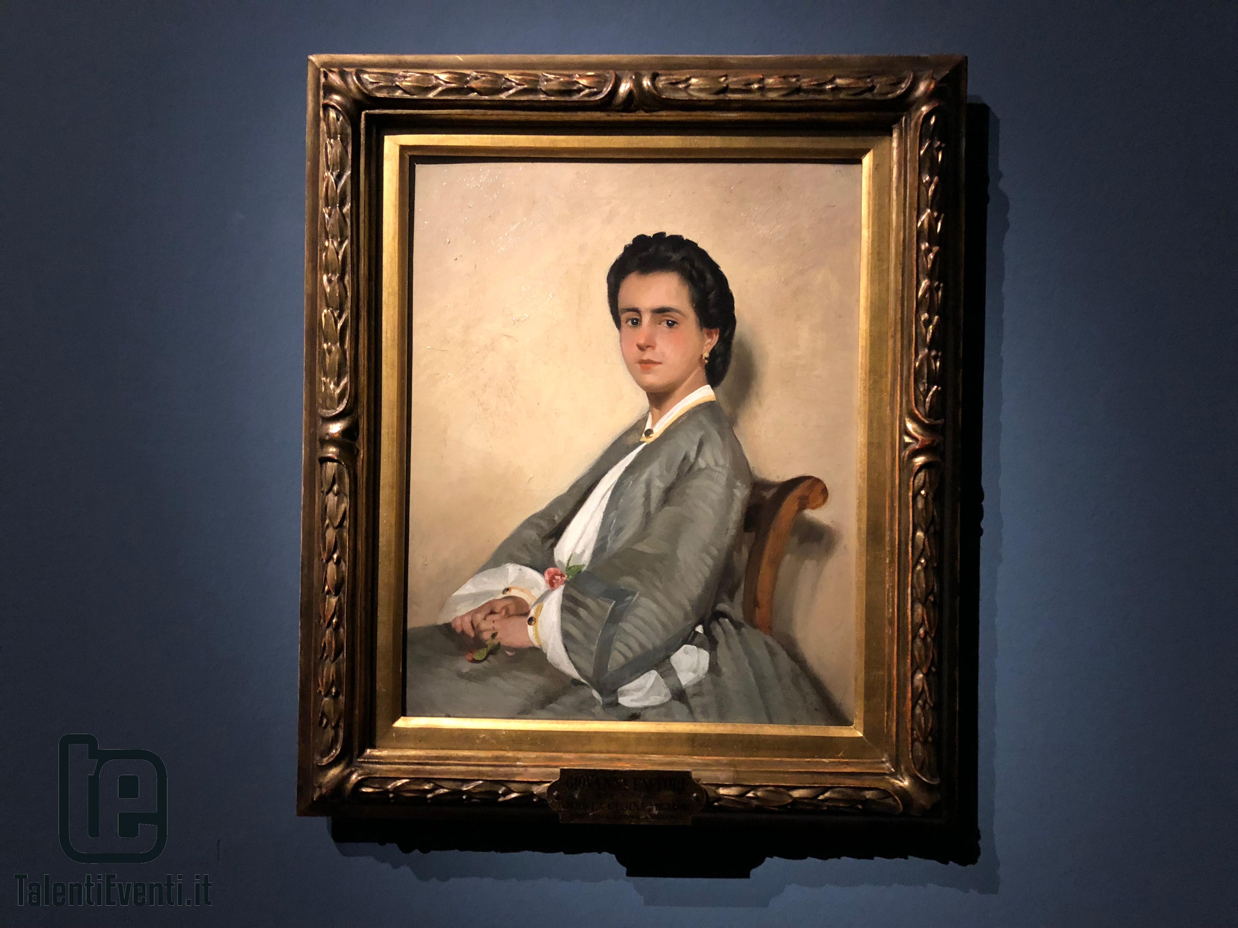 Giovanni Fattori - La cugina Argia - 1861