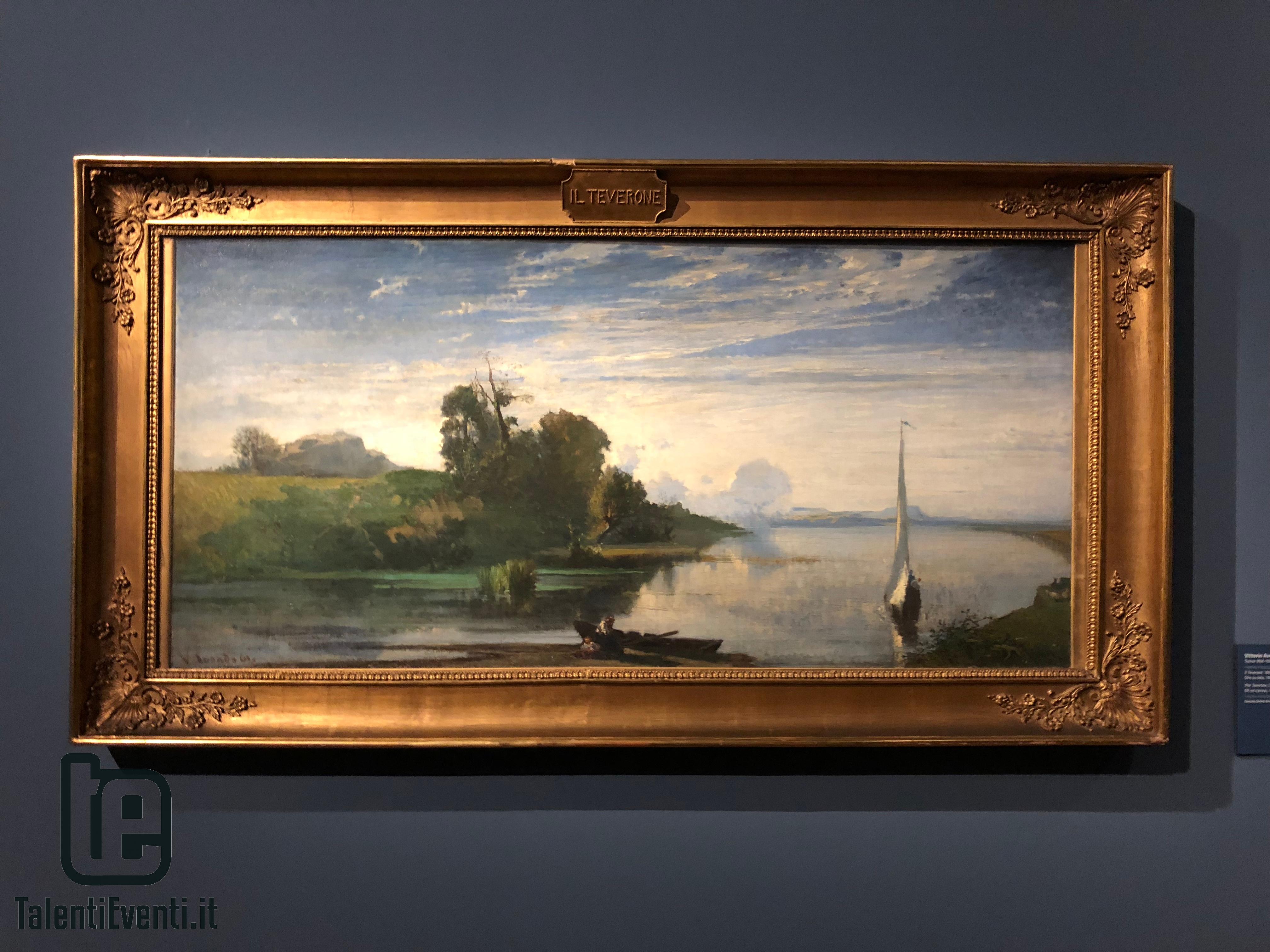 Vittorio Avondo - il Teverone - 1861