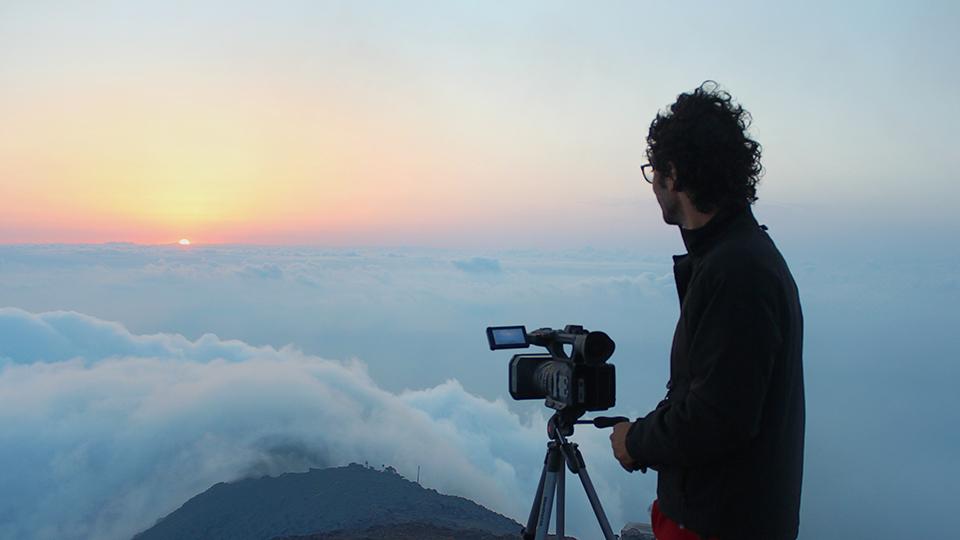 """Alessandro Genitori - Uno dei due registi del documentario """"Stromboli"""""""