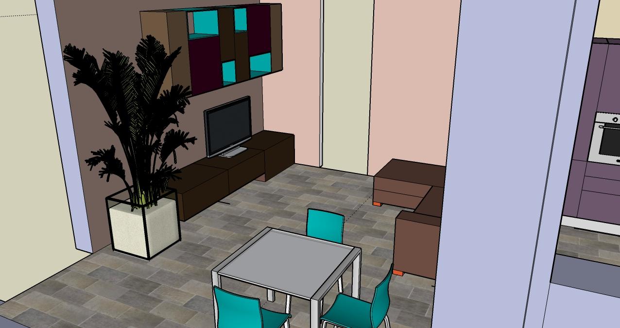 progettazione_zona_giorno_salotto_cucina_sara_rombola_pink_house_torino_talenti_eventi_2