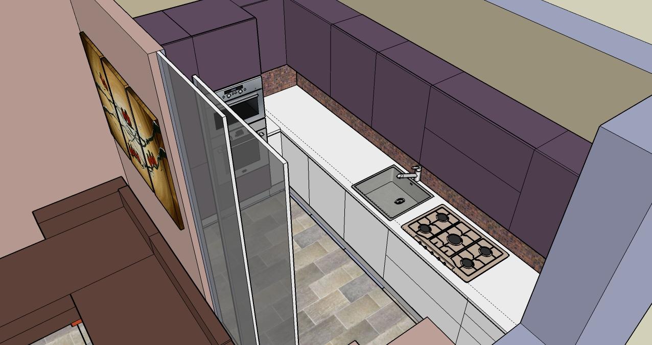 progettazione_zona_giorno_salotto_cucina_sara_rombola_pink_house_torino_talenti_eventi_4