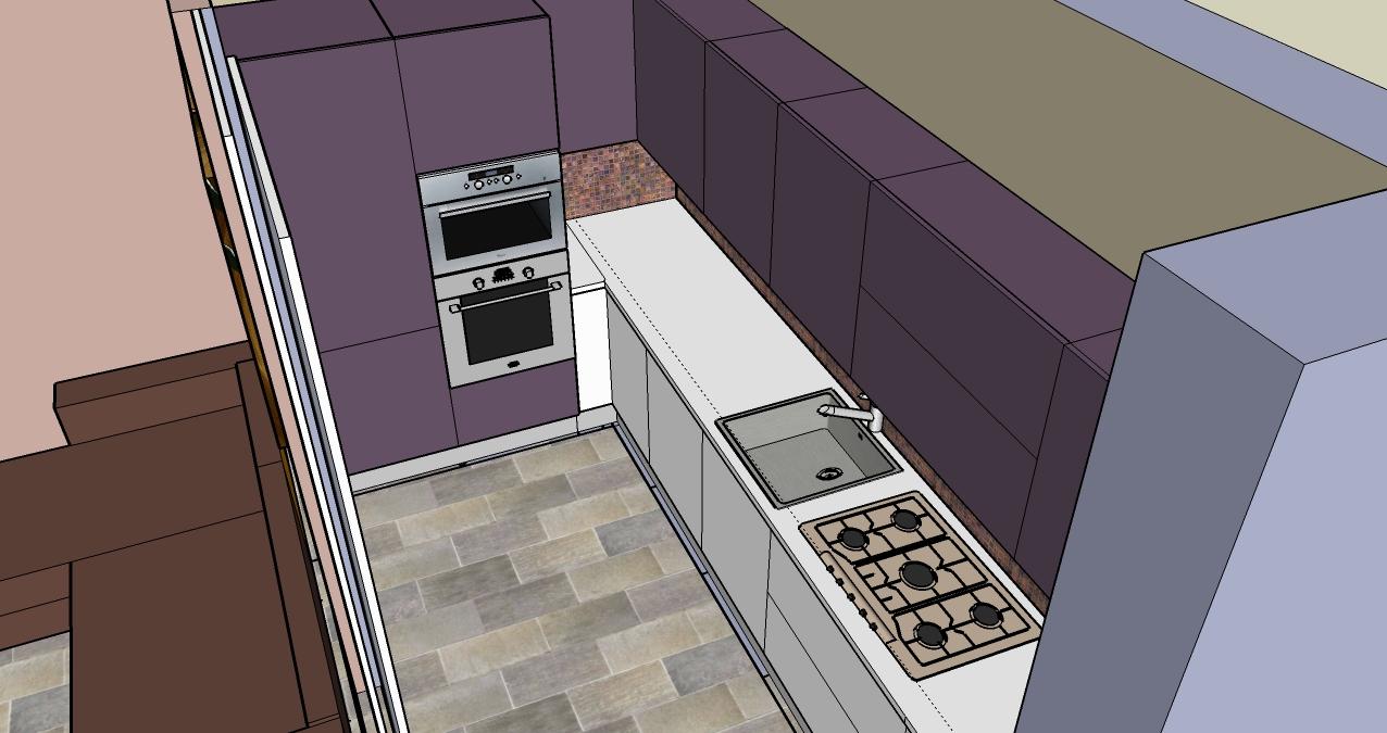 progettazione_zona_giorno_salotto_cucina_sara_rombola_pink_house_torino_talenti_eventi_5