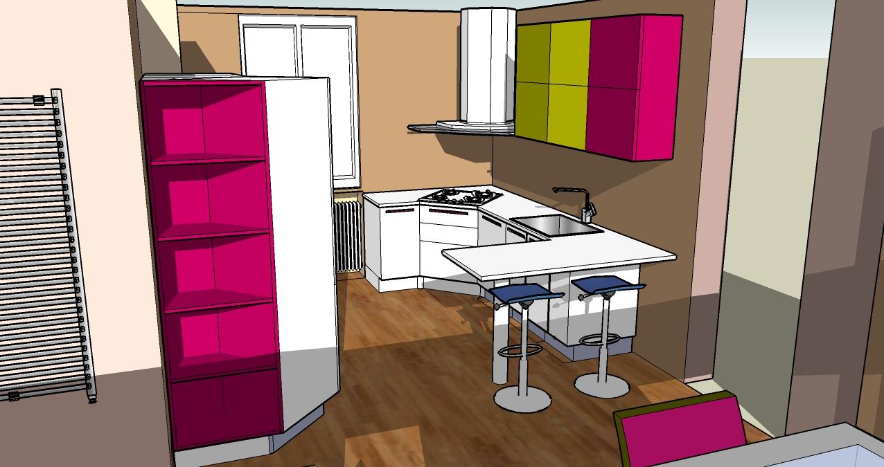 progettazione_zona_giorno_sara_rombola_pink_house_torino_talenti_eventi_3