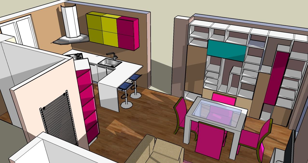 progettazione_zona_giorno_sara_rombola_pink_house_torino_talenti_eventi_4