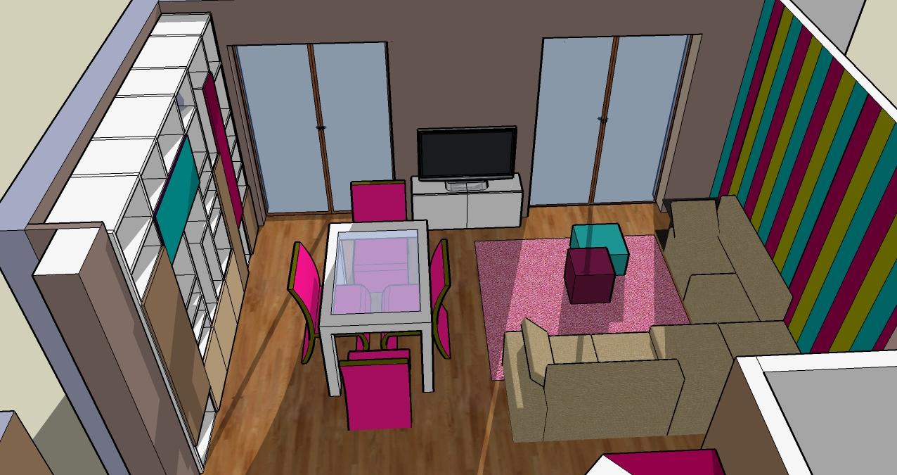 progettazione_zona_giorno_sara_rombola_pink_house_torino_talenti_eventi_5