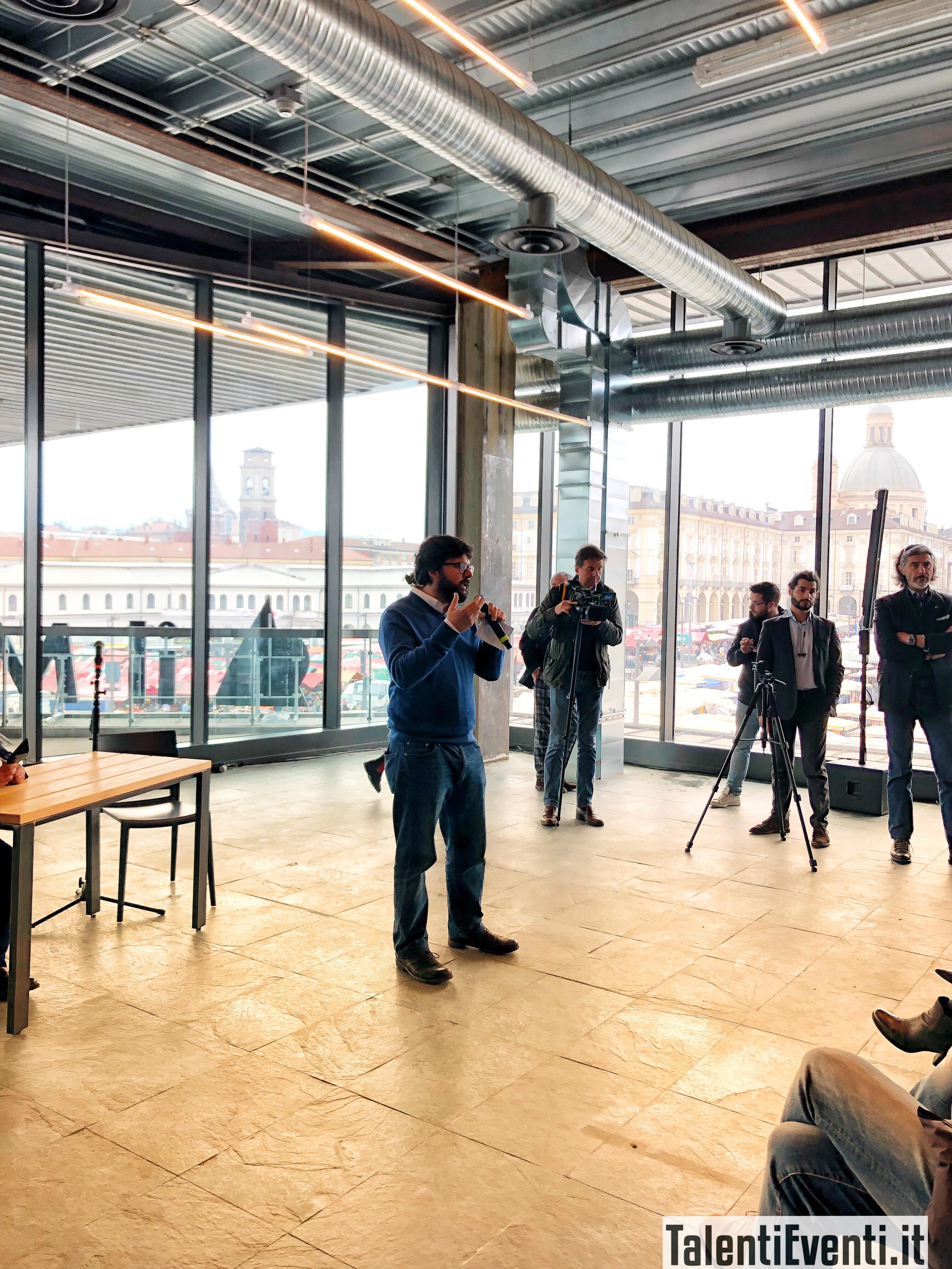 Luca Iaccarino dà il benvenuto al Mercato Centrale di Torino