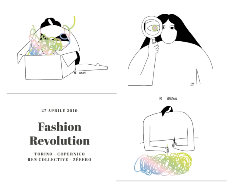 the best attitude 02690 fd7ae FASHION REVOLUTION TORINO 2019: si continua a parlare di ...