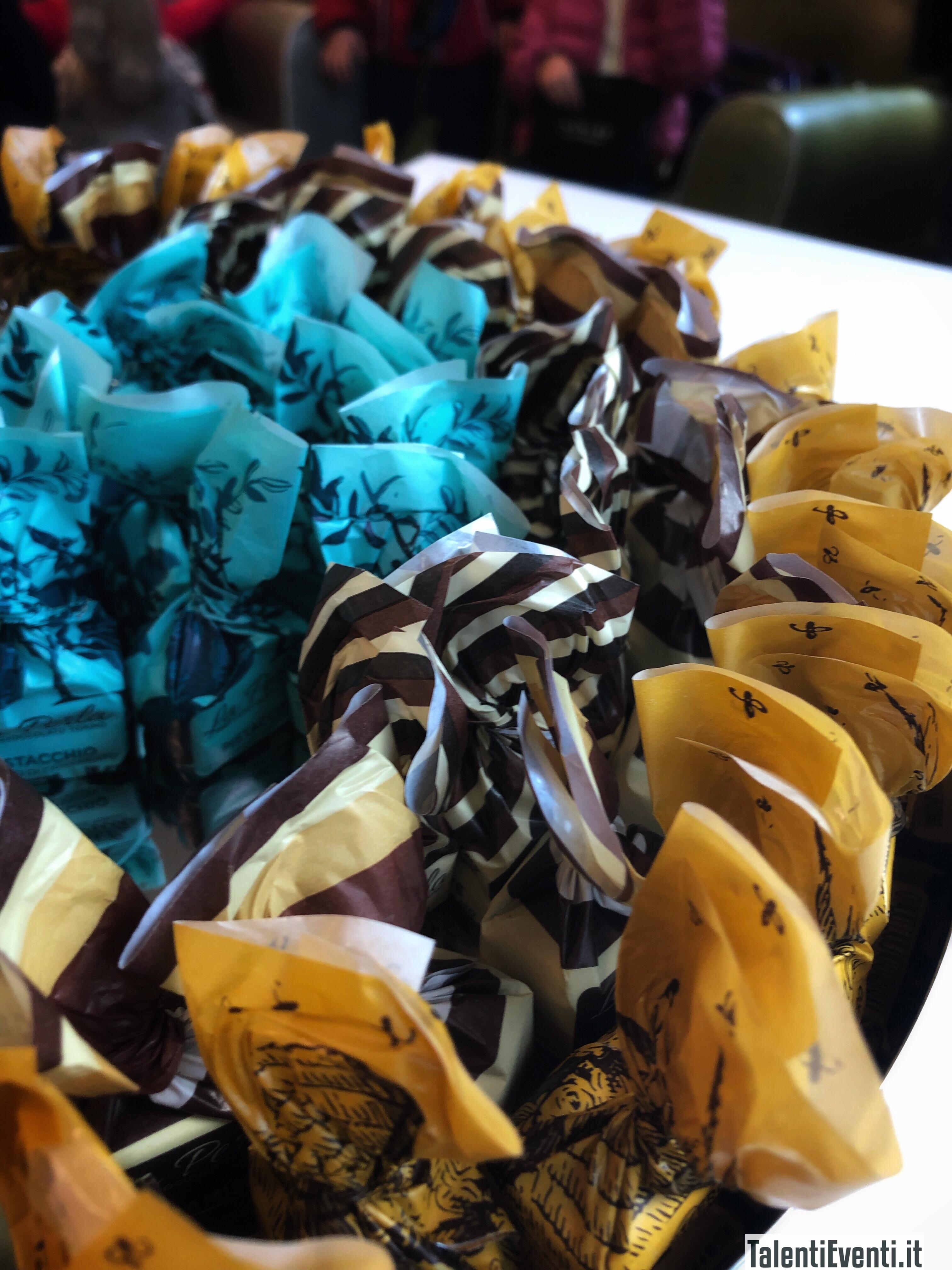 Triple Chocolate in carta rigata