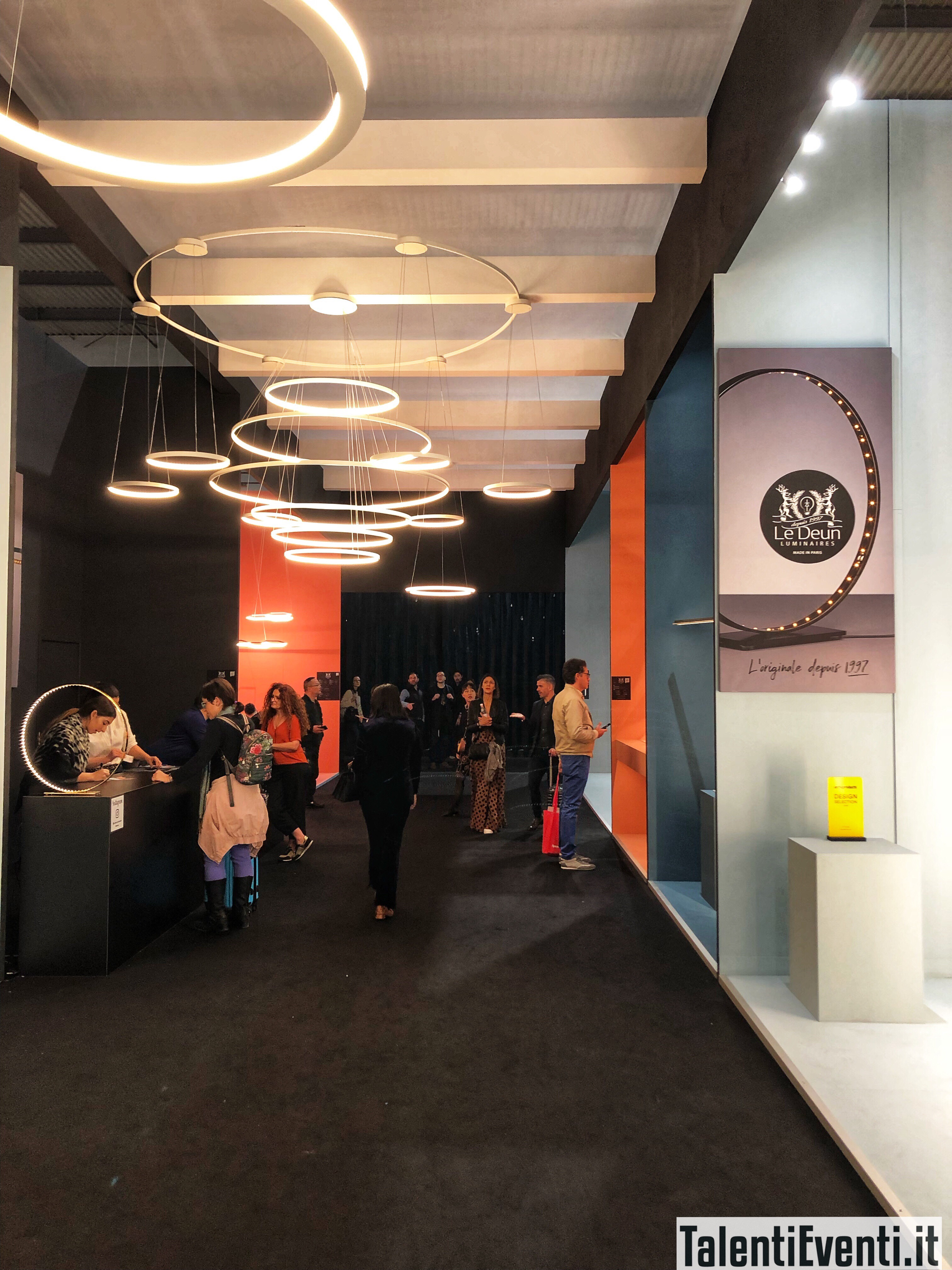 Le Deun Luminaires - Salone del Mobile 2019