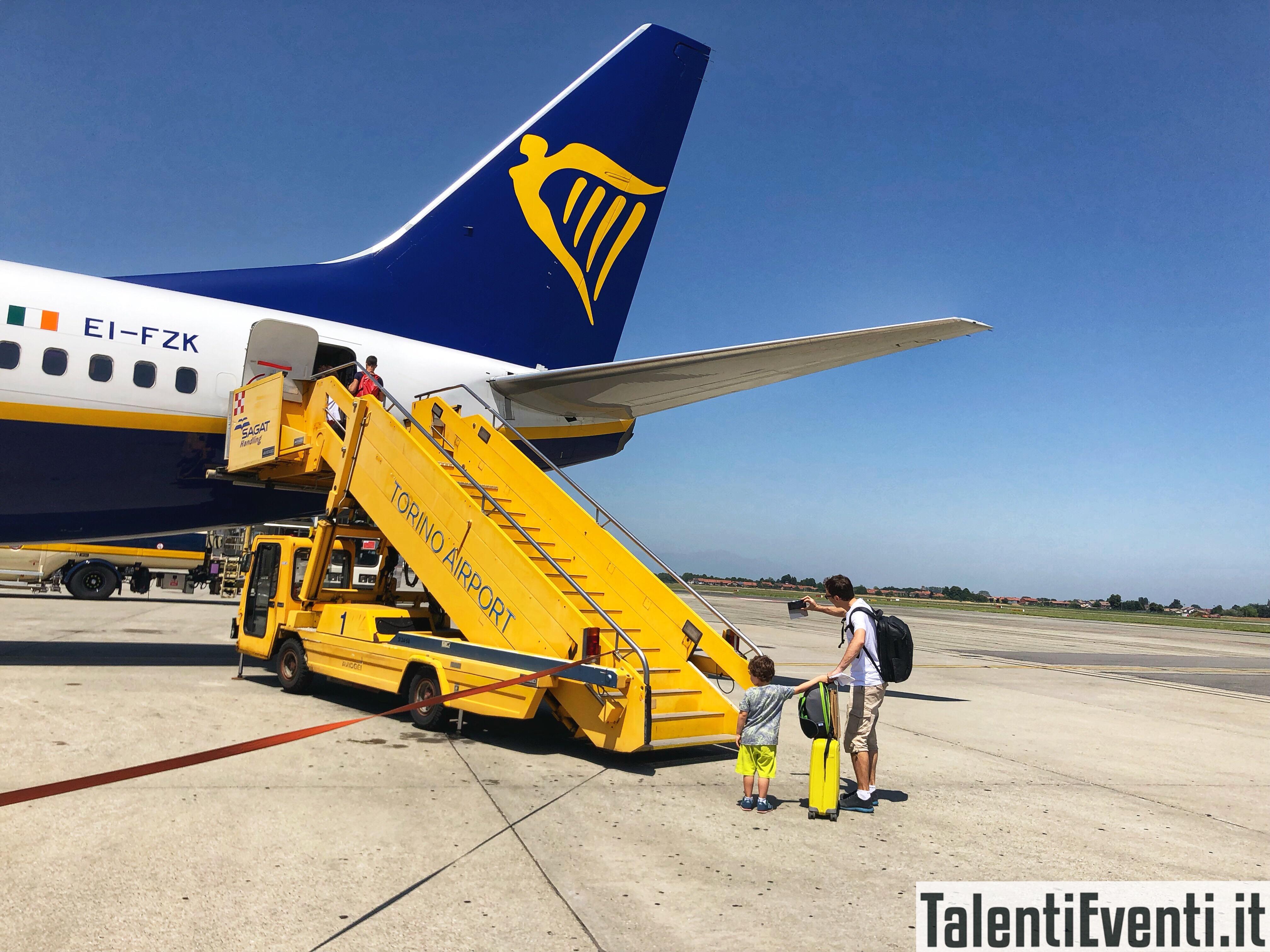 Abbiamo volato con RyanAir da Torino